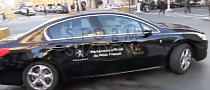 Controversial Miss France 2014 Chauffeured in Peugeot 508 [Video]