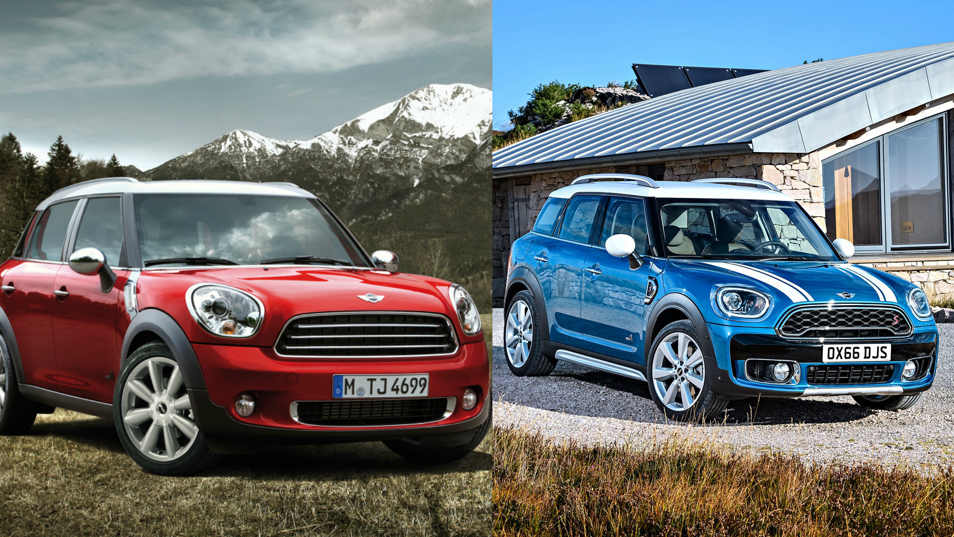 2017 mini countryman vs 2010 model main differences between the two generations autoevolution. Black Bedroom Furniture Sets. Home Design Ideas
