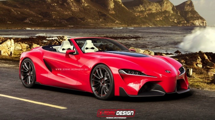 Convertible Next Generation Toyota Supra Might Come True