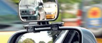 Convex Side Mirrors Eliminate Blind Spots