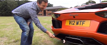 Cooking Sausages on Aventador Exhaust Is Really Hard [Video]