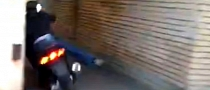 Cool Scooter Rider Runs Out of Coolness [Video]