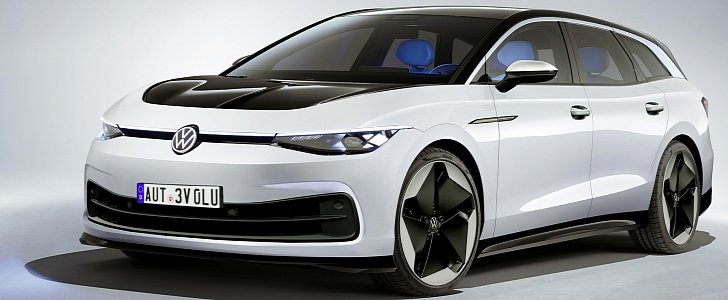 Cool VW ID. Space Vizzion Wagon to Enter Production Looking Like This