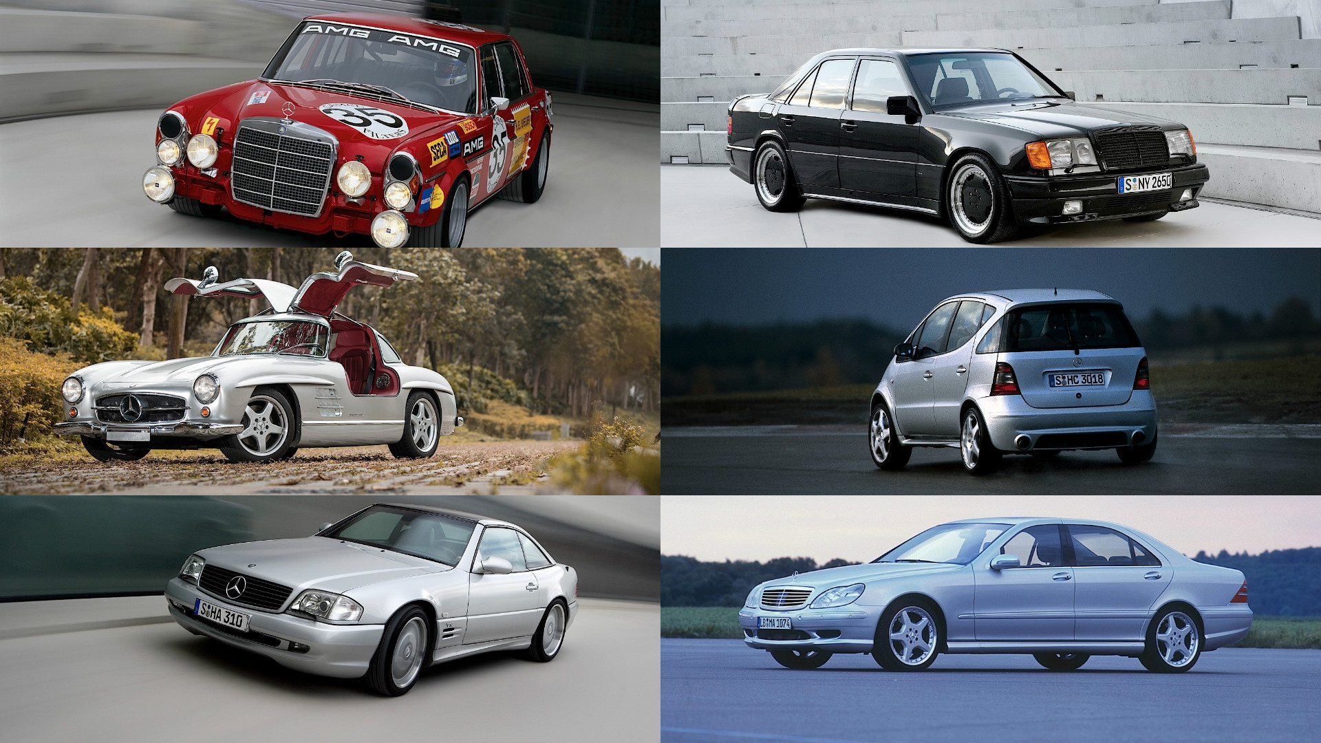 Coolest obscure mercedes amg models in history for Mercedes benz model history