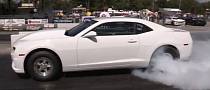 COPO Camaro Smokes Rubber, Runs 9s [Video]