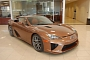 Copper/Brownish 2012 Lexus LFA for Sale on eBay