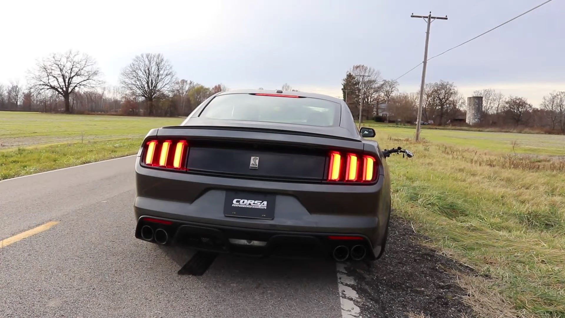 Corsa Performance Makes The Shelby Gt350 Louder With Double X Pipe