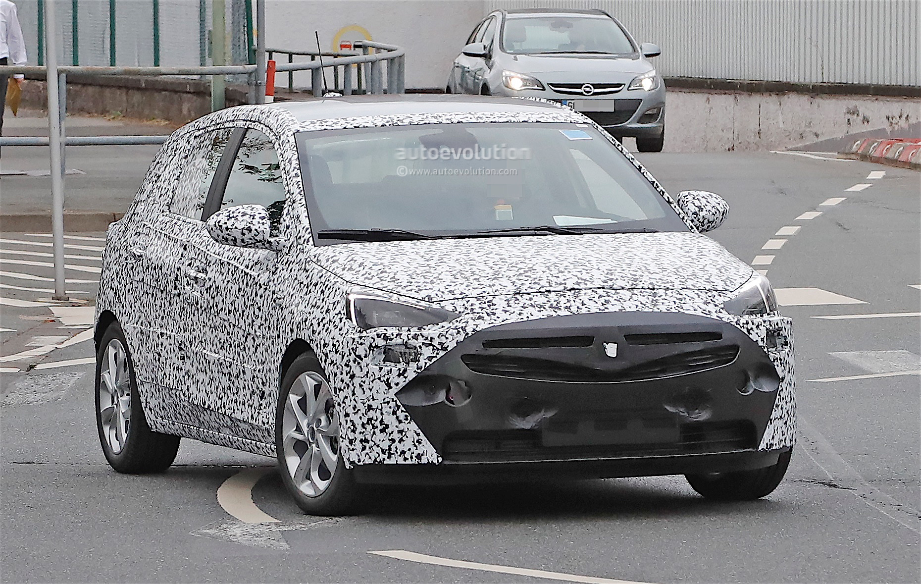 2018 opel corsa spied for the first time here 39 s how it looks autoevolution. Black Bedroom Furniture Sets. Home Design Ideas