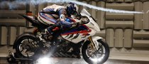 Corser, Haslam Take BMW S 1000 RR to Wind Tunnel Tests