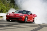Corvette ZR-1 Warming up