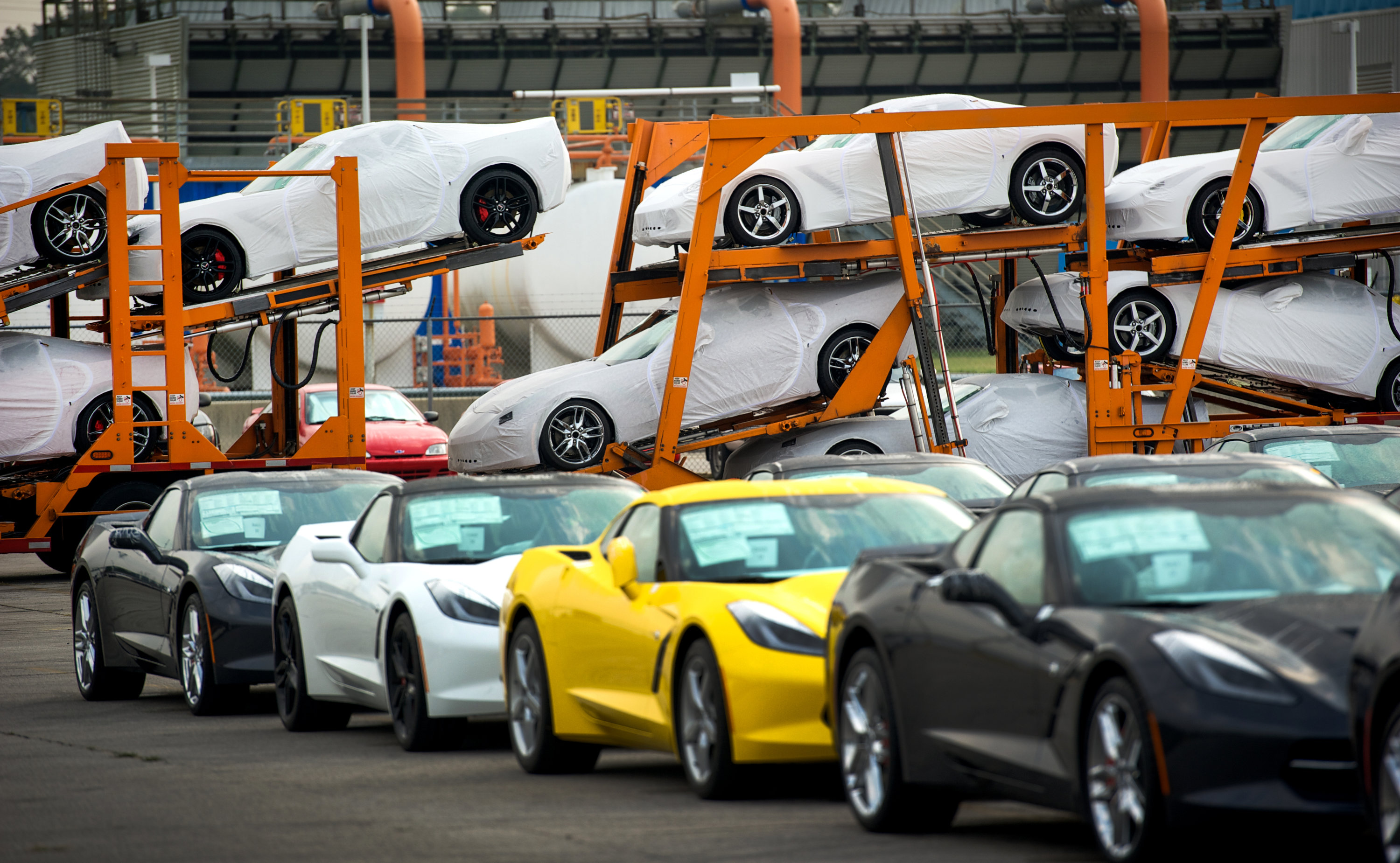 Corvette Factory in Kentucky Gets $439 Million for New Paint Shop