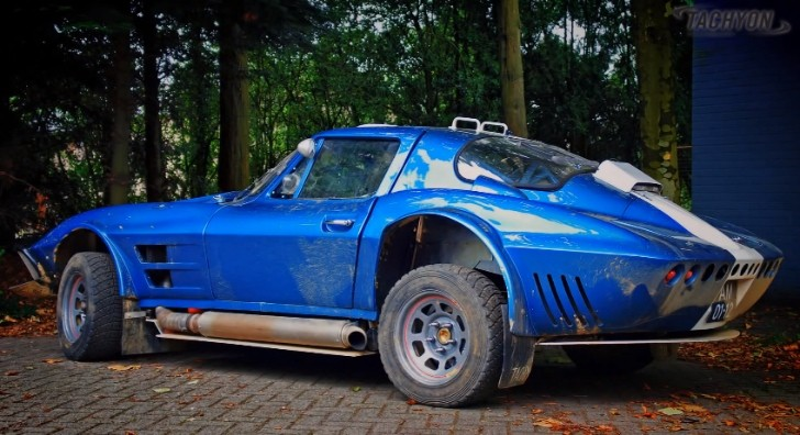 Corvette Grand Sport Turned into Rally Car [Video]