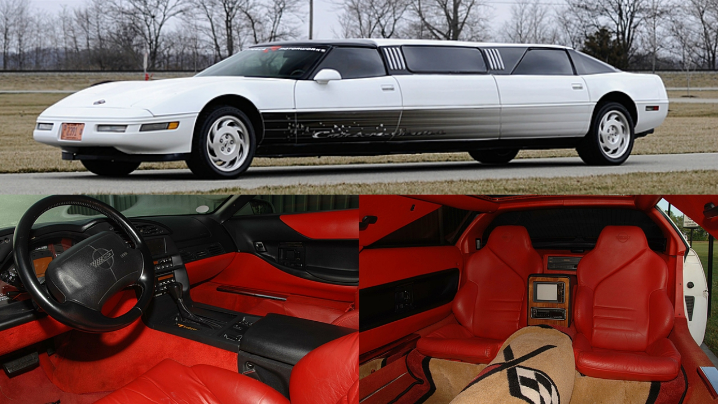 Corvette Limousine Is Real And It S Headed To Auction Autoevolution