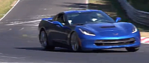 Corvette Stingray and Z28 Camaro Lap Nurburgring [Video]