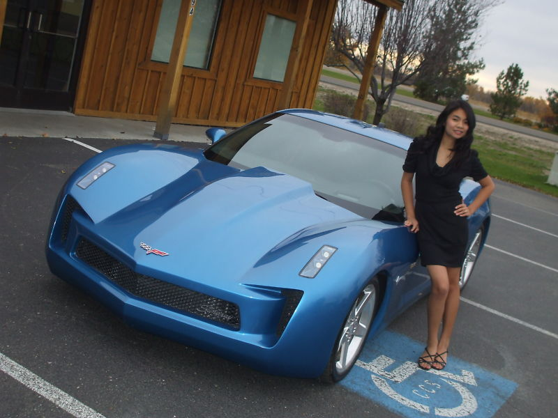 Corvette Stingray Concept Replica From Z And M Customs