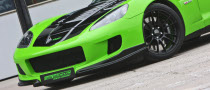 Corvette Z06 Bi-Turbo Gets Painted Green by GeigerCars...
