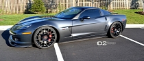 Corvette Z06 on D2Forged Wheels