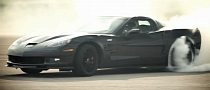 Corvette ZR1 Centennial Edition Drifts for Charity [Video]