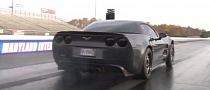 Corvette ZR1 Runs 8-Second Quarter Mile [Video]