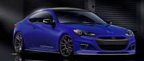 Cosworth Hyundai Genesis Coupe Teased for SEMA 2012
