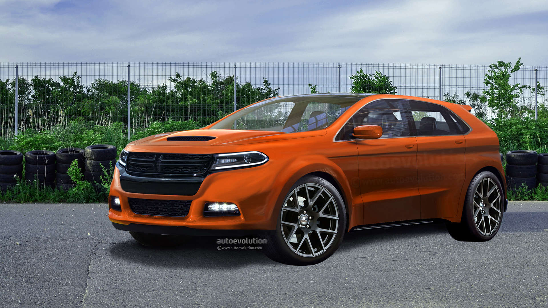 Could An Electric Dodge Charger Suv Challenge The Ford Mustang Mach E Autoevolution