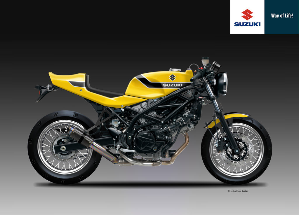 could suzuki use the sv650 for a neo retro revival of its line up autoevolution. Black Bedroom Furniture Sets. Home Design Ideas