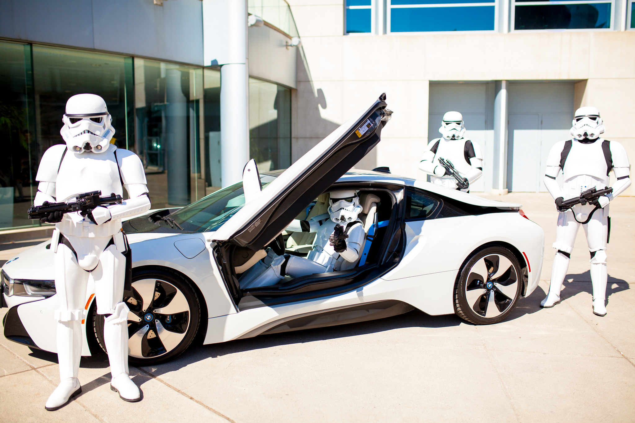 Could The Bmw I8 Be The Official Stormtroopers Car