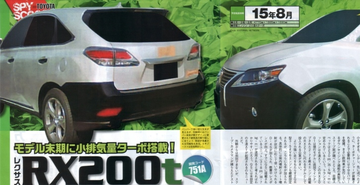 Could this Be a Lexus RX 200t Mule?