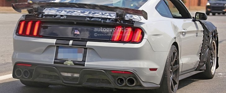 Could This Car Be the 2018 Ford Mustang Shelby GT500 or the Rumored Mach 1?