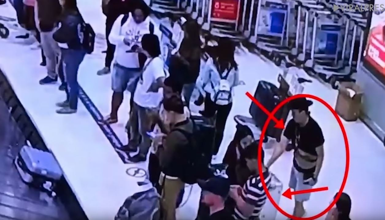 Couple Caught Stealing Designer Luggage From Airport in