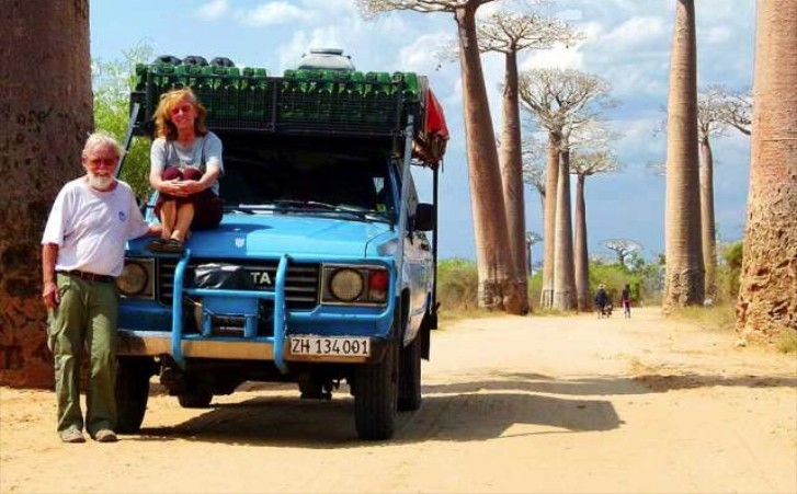 Couple Travel Longest Driven Journey with a Toyota Land Cruiser: 692,000 km and Counting