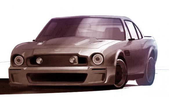 Aston Martin Cr V8 Concept By Claydon Reeves Autoevolution
