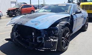 Crashed 2020 Ford Mustang Shelby GT500 Is a Build Waiting to Happen