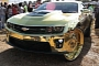 "Crazy Camaro ZL1 ""King"" All-Gold on 30-Inch Wheels [Video]"