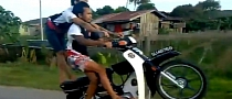 Crazy Stunts from Malaysian Riders Wearing Flip-Flops [Video]