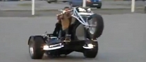 Crazy Trike Wheelies and Drifting [Video]