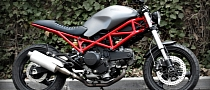 CRD Ducati Monster Shows Massive Nerve
