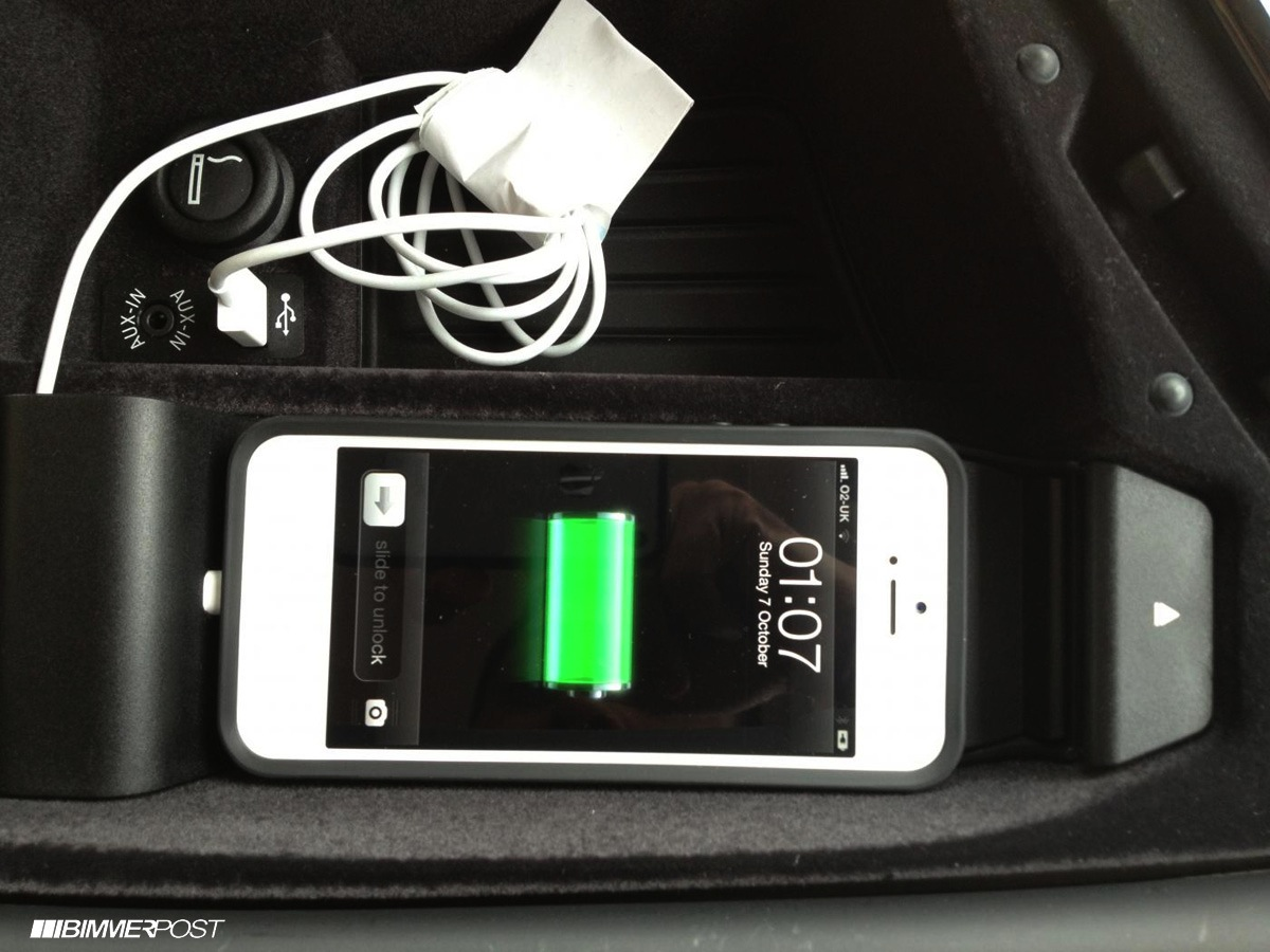 how to connect iphone to bmw 3 series