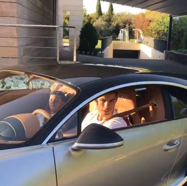 Cristiano Ronaldo Shows His Bugatti Chiron, Goes for ...