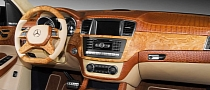Crocodile and Wood ML63 AMG Interior by TopCar Is Obscene [Photo Gallery]