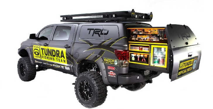 CS Motorsport TRD Tundra Concept Brings Fishing to SEMA [Photo Gallery]