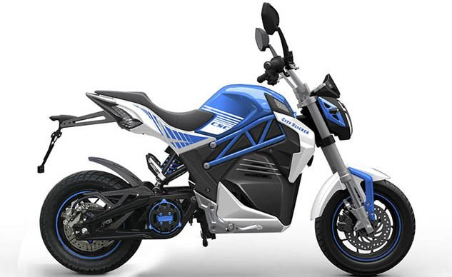 CSC City Slicker Electric Motorcycle Ready for September ...