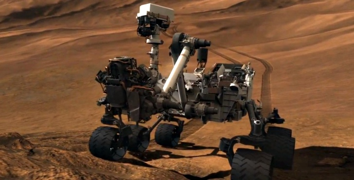 Land Rover Landing On Mars - Pics about space