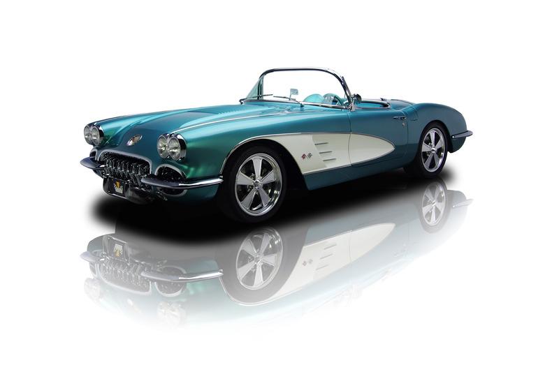 resto mod corvette roadster corvette lt1 1958 chevrolet corvette. Cars Review. Best American Auto & Cars Review