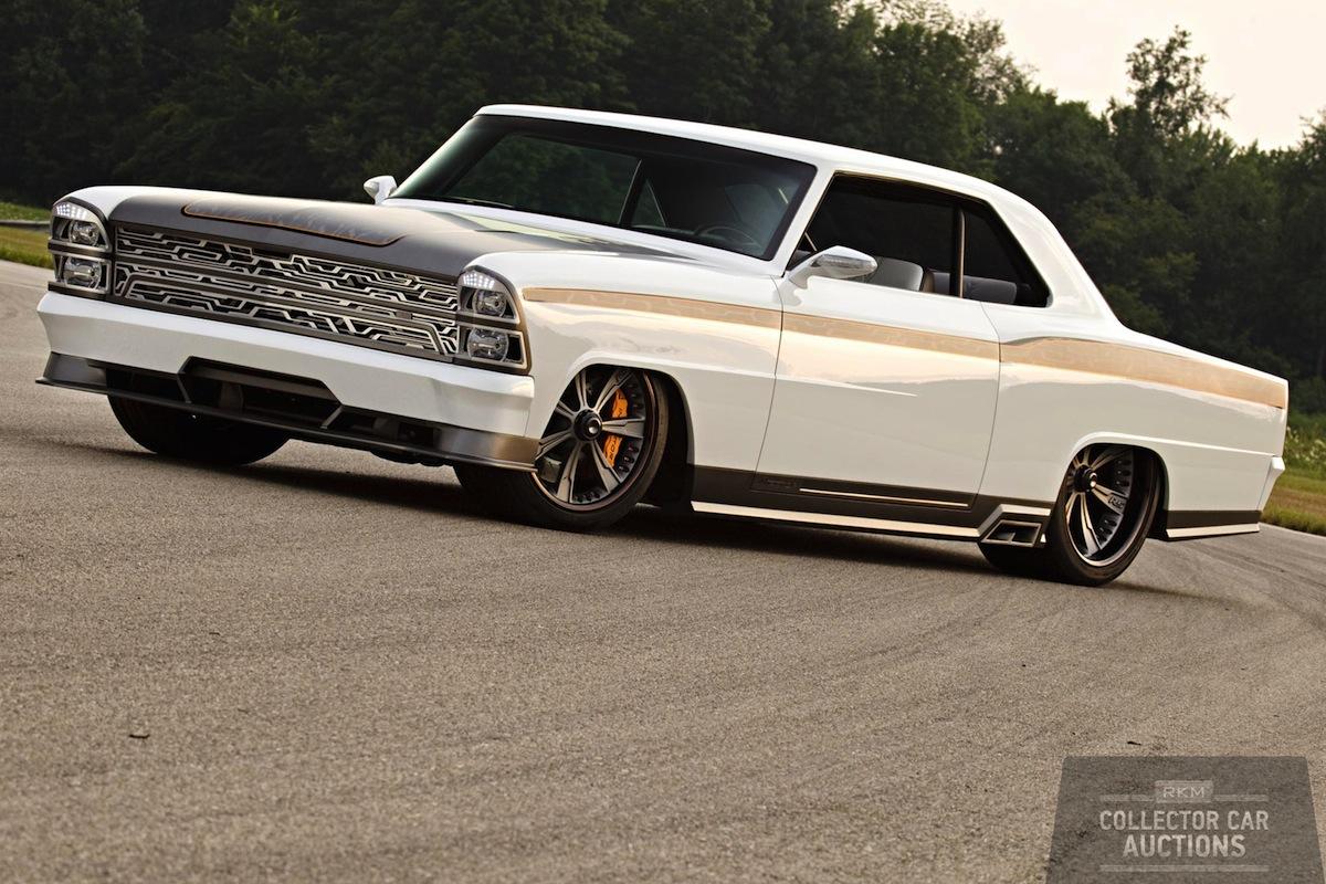 Custom 1967 Chevrolet Nova Fetches 300 000 At Auction Autoevolution