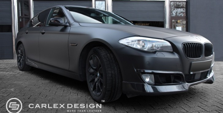 "Custom BMW 5-Series ""The Ripper"" by Carlex, Wrapstyle [Photo Gallery]"