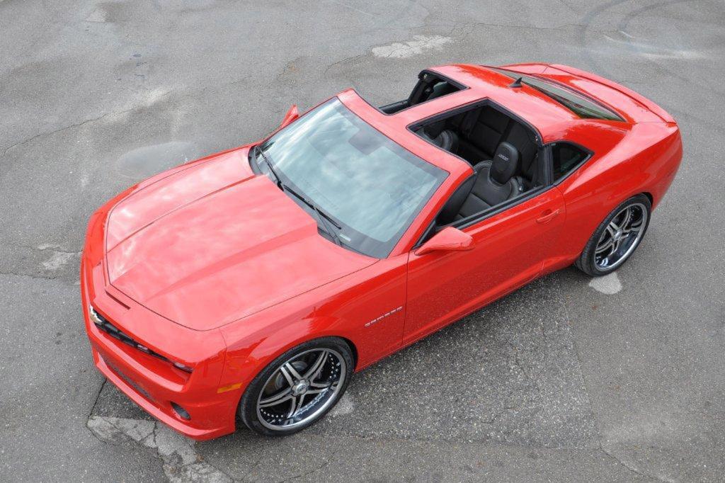 Custom Built T Top Chevrolet Camaro For 6 500 Autoevolution
