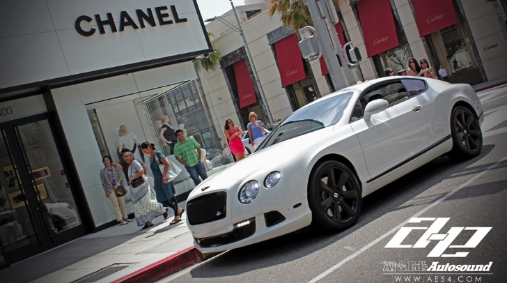 Custom Continental GT Posing at Chanel Store [Photo Gallery]
