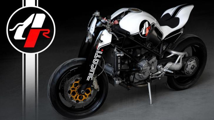 Custom Ducati Monster MS4R By Paolo Tesio - autoevolution