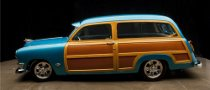 Custom Ford Hot Rod Woody Wagon Up for Grabs